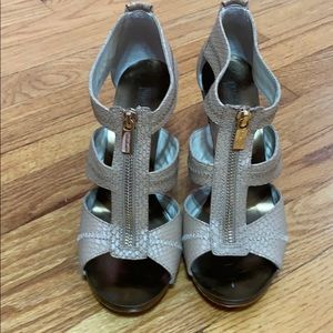 Rarely used high heeled shoes/